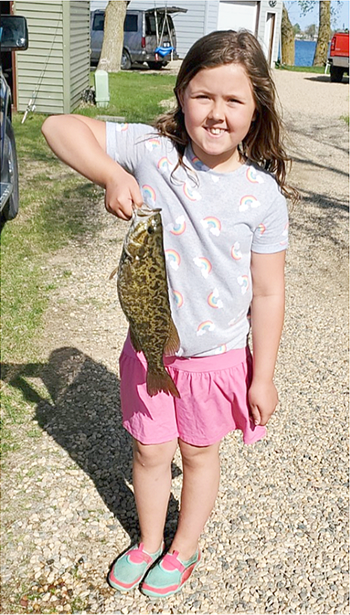 Alivia's Smallmouth Bass