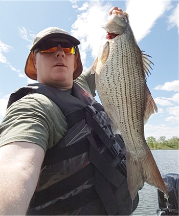 CHAD REECE's Wiper (Hybrid Striped Bass)